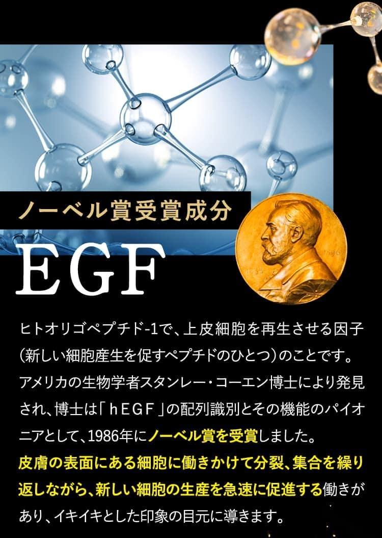 ノーベル賞受賞成分EGF